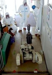 iRobot PacBot in action at Fukushima Dai-Ichi Nuclear Plant