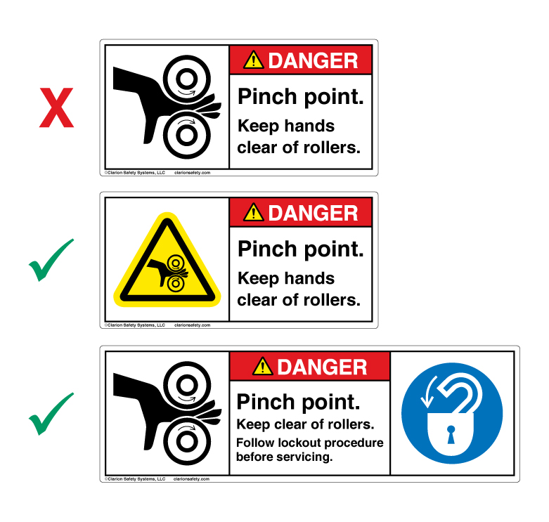 Product Safety Label New Iso 3864 2 Wordless Format